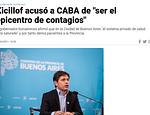 Claro la culpa es de CABA, descontrol en el congourbano publicado en Info
