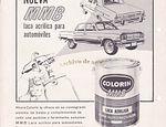 Colorín y su laca acrílica MMB para automóviles de 1966 published in Archivo de autos