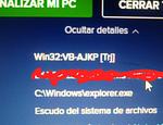 El virus Win32.VB-AJPK[Trj] esta dando vueltas publicado en Offtopic