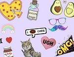 Tutoriales : Aprendiendo a hacer stickers  publicado en Hazlo tú mismo