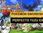 Yuzu Early Access 1607 rendimiento en un pc gama baja Pokemon Shield published in Juegos