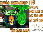 Yuzu Early Access 1609 rendimiento en un pc gama baja Luigi Mansion 3 publicado en Juegos