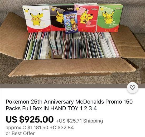 Millenials abarrotan McDonald's para comprar su cajita feliz Pokémon publicado en Info