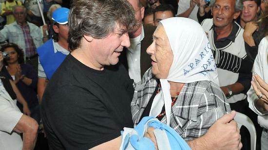 Hebe De Bonafini se mostró junto a Boudou y destrozó al presidente published in Noticias