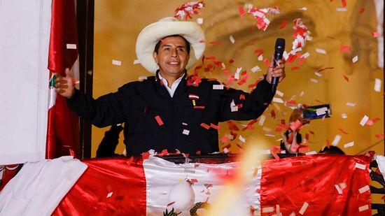 Castillo Nuevo Presidente en Perú, Keiko la pechea de nuevo published in Noticias