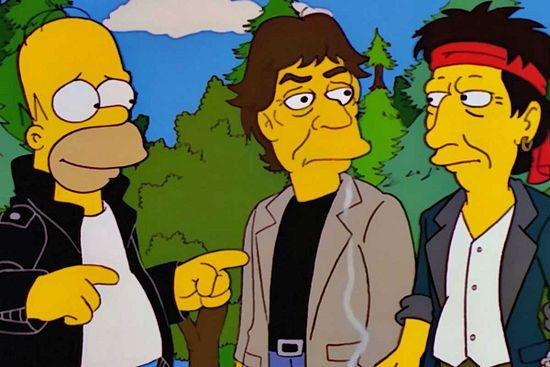 Los Simpson: Todos los músicos que aparecieron en la serie published in La Caja de Pandora Ω 9.900