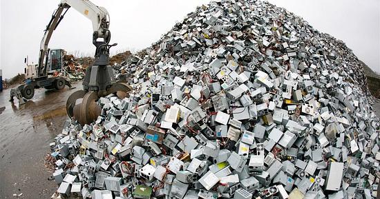 La basura electrónica en 2021 tendrá más peso que la Gran Muralla published in Info