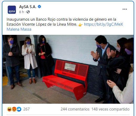 Massa: Para evitar f3micidios crean un banquito Rojo publicado en Offtopic