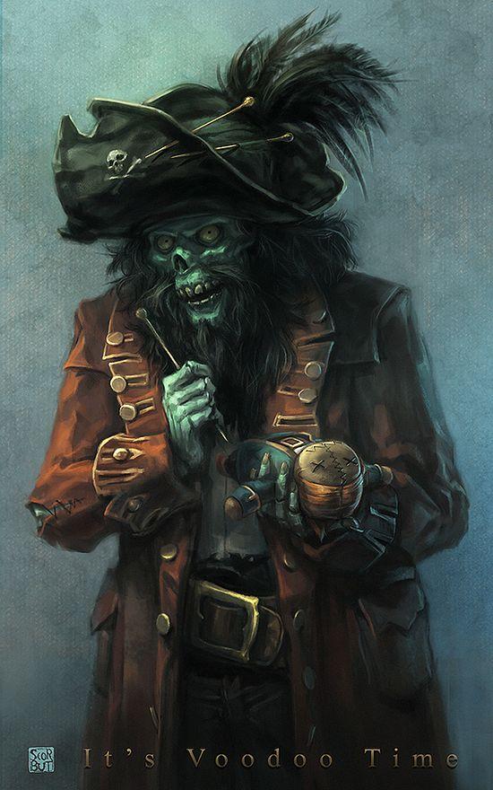 El pirata fantasma LeChuk publicado en Offtopic