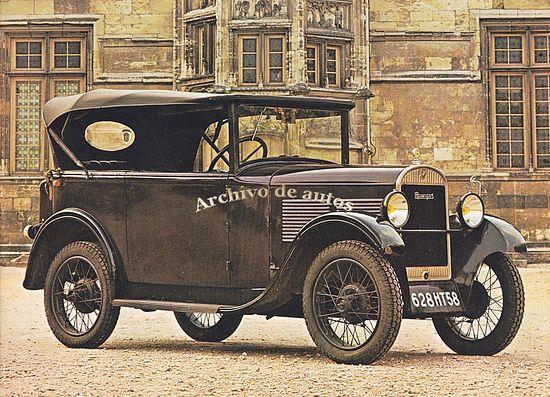 Rosengart, una rara marca francesa de automóviles published in Archivo de autos