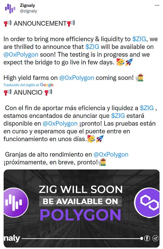 Zignaly un proyecto interesante   Zigcoin publicado en Economía y negocios