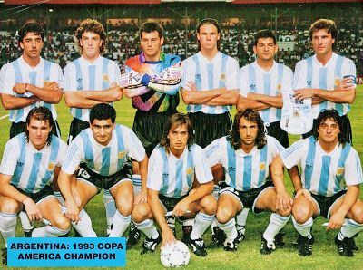 ¿Como era el mundo cuando Argentina gano su ultima copa en 1993? published in Offtopic