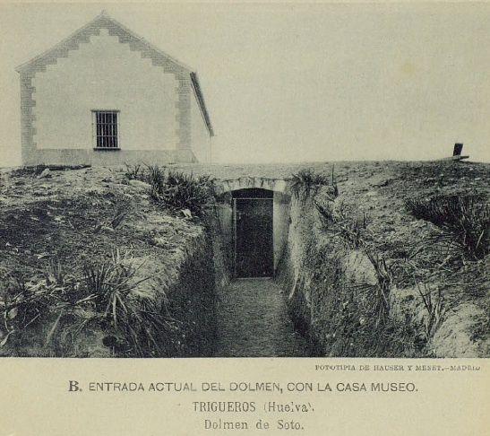 Dolmen de Soto en Trigueros published in Offtopic