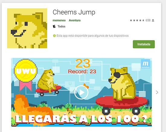 Hice un videojuego 16mil+ descargas y te lo cuento (Cheems)! publicado en Hazlo tú mismo