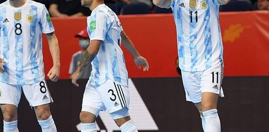 FUTSAL  La Selección de futsal debutó con un ¡11-0! en el Mundial published in Deportes