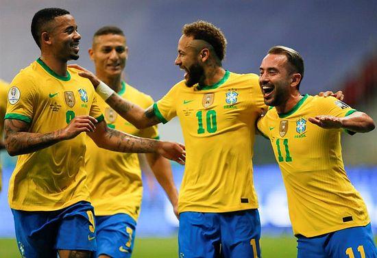 Brasil derrotó a Venezuela en la inauguración del torneo published in Deportes