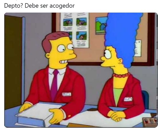 Taringuero, fanático de Los Simpson quiere vender su departamento!! published in Humor
