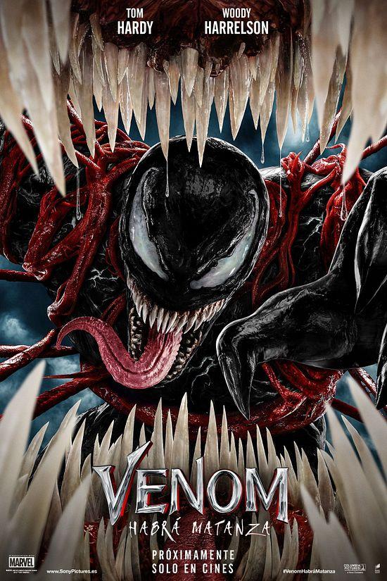 'Venom 2: Habrá Matanza' (Carnage) - ¡Tiene Poster y Tráiler!  publicado en TV, películas y series